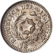 10 Centavos (Silver Pattern) – obverse