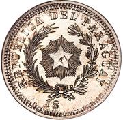 50 Centavos (Silver Pattern) – obverse