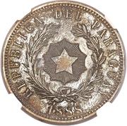 1 Peso (Silvered-Bronze Pattern) – obverse