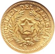 20 Centavos (Gold Pattern) – obverse