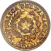 10 Centavos (Gold Pattern) – obverse