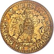 10 Centavos (Gold Pattern) – reverse