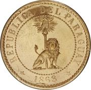 2 Centimos (Brass Pattern) – obverse