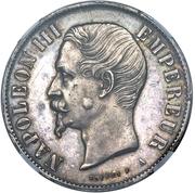 10 Reales Napoleon III (Mule) – obverse