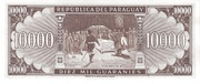 10 000 Guaraníes – reverse