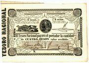 4 Pesos – obverse