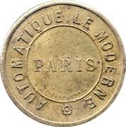 10 Centimes - Automatique le moderne (Paris) -  obverse