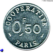 0.50 Franc (Paris Emergency Coinage) – obverse