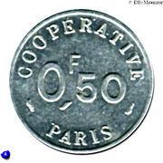 0.50 Franc (Paris Emergency Coinage) – reverse