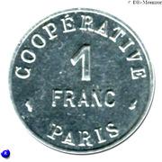 1 Franc (Paris Emergency Coinage) -  obverse
