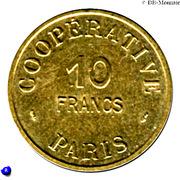 10 Francs (Paris Emergency Coinage) – obverse