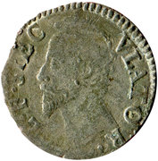 1 Parpagliola - Alessandro Farnese (Old Bust) – obverse