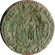 20 Soldi, 1 Lira - Antonio Farnese – obverse