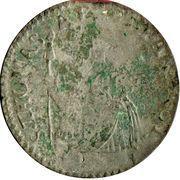 20 Soldi, 1 Lira - Antonio Farnese – reverse