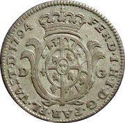 20 Soldi - Ferdinando di Borbone – obverse