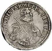 1 Scudo - Odardo Farnese – reverse