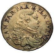 1 Scudo - Ranuccio Farnese II – obverse
