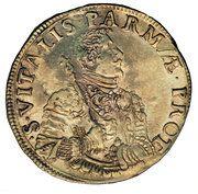 1 Scudo - Ranuccio Farnese II – reverse