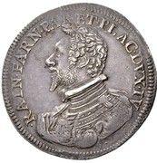 1 Ducatone - Ranuccio Farnese I – obverse