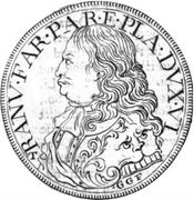 1 Ducatone - Ranuccio Farnese II – obverse