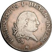 1 Ducaton - Ferdinando di Borbone – obverse