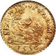 1 Scudo d'Oro - Ottavio Farnese – reverse