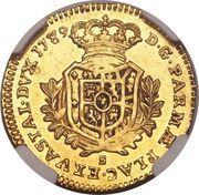 ½ Doppia - Ferdinando di Borbone – reverse