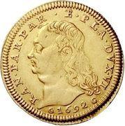 1 Doppia - Ranuccio Farnese II – obverse