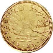 1 Doppia - Ranuccio Farnese II – reverse