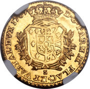 1 Doppia - Ferdinando di Borbone – reverse