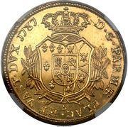 4 Doppie - Ferdinando di Borbone – reverse