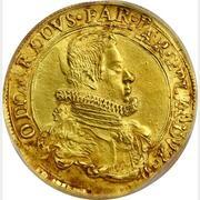 6 Doppie - Odardo Farnese – obverse