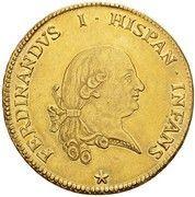 8 Doppie - Ferdinando di Borbone – obverse