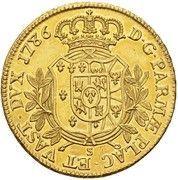 8 Doppie - Ferdinando di Borbone – reverse