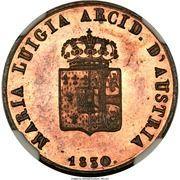 1 Centesimo - Maria Luigia – obverse