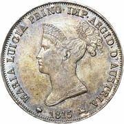 1 Lira - Maria Luigia – obverse