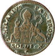 10 Soldi - Ferdinando I di Borbone – reverse