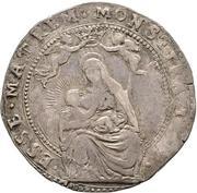 1 Quarantano - Ranuccio II Farnese – reverse