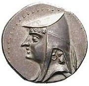 Drachm - Arsaces I (Sellwood Type 2 - Nisa) – obverse