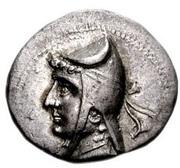 Drachm - Mithradates I (Sellwood Type 7 - Hekatompylos) – obverse