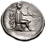 Drachm - Mithradates I (Sellwood Type 7 - Hekatompylos) – reverse