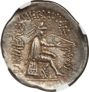 Drachm - Mithradates I (Sellwood Type 9) – reverse