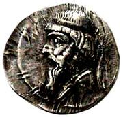 Drachm - Mithradates I (Sellwood Type 11.1 - Hekatompylos) – obverse