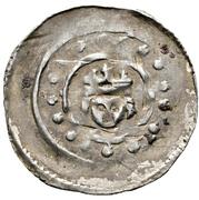 1 Pfennig - Rüdiger von Bergheim – reverse