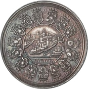 Medal - Sede Vacante of 1761 (Passau) – reverse