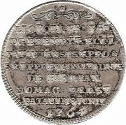 ⅛ Thaler - Leopold Ernst Joseph – reverse