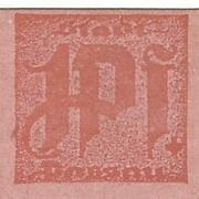 1 Pfennig (cut edge) – obverse