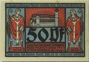50 Pfennig (Monastery Series - Issue 1) – obverse