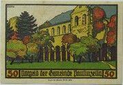 50 Pfennig (Monastery Series - Issue 1) – reverse