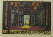 50 Pfennig (Monastery Series - Issue 2) – reverse